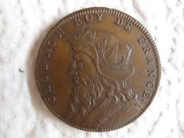 Medaille CLODION  Roy De France, Gravée Par Thomas Bernard En 1712 - France