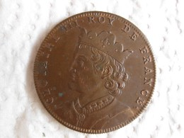 Medaille CLOTAIRE III  Roy De France, Gravée Par Thomas Bernard En 1712 - France