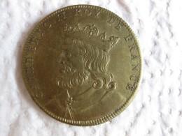 Medaille CHILDERIC II  Roy De France, Gravée Par Thomas Bernard En 1712 - France