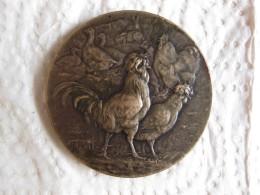 Medaille Société Des Aviculteurs Du Midi Et Club De La Caussade Toulouse, Par RIVET - France