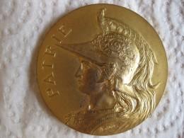 Medaille La Revanche De FIRMINY, 20eme Anniversaire 1886  1906, Par Arthus Bertrand - France