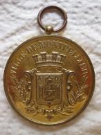 Medaille Ville De Montpellier, Concours Musique, 26 Et 27 Juillet 1896 - France