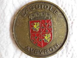 Medaille LAGUIOLE AVEYRON - France