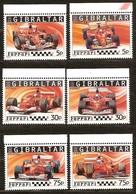 Gibraltar  2004 Yvertn°  1107-1112 *** MNH Cote 11 Euro Voitures Cars Ferrari - Gibraltar