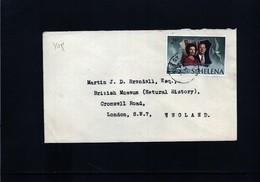 St.Helena  Interesting Letter - St. Helena
