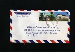 Fiji  Interesting Airmail Letter - Fiji (1970-...)