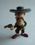 RARE FIGURINE JIM - LUCKY LUKE - JOE DALTON - MORRIS Années 60 - Figurines