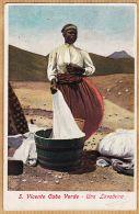 Af140 Rare VINCENTE CABO VERDE Una Lavadeira Laveuse CAP-VERT 1910s à CHAMPLY Bv Beaumarchais Paris-Giuseppe FRUSONI - Cape Verde
