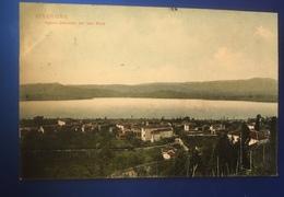 Viverone Veduta Lato Nord Viaggiata 1910 - Biella