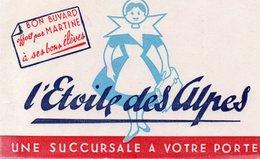BUVARD ILLUSTRE- L' ETOILE DES ALPES - - Food