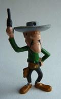 RARE FIGURINE JIM - LUCKY LUKE - WILLIAM DALTON - MORRIS Années 60 - Figurines