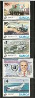Aides En Somalie,Bosnie,Corée,etc (UNDP), 5 Timbres Neufs **  Côte 15,00 Euro - Samoa
