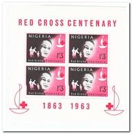 Nigeria 1963, Postfris MNH, International Red Cross - Nigeria (1961-...)