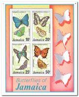 Jamaica 1978, Postfris MNH, Butterflies - Jamaica (1962-...)