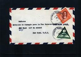 Dominican Republic 1941 Interesting Airmail Letter - Dominikanische Rep.