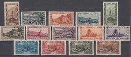 Saargebiet Minr.108-121 Mit Falz - 1920-35 Saargebiet – Abstimmungsgebiet