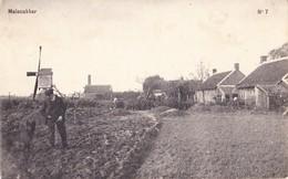 RIJKEVORSEL CIRCA 1910 MOLENAKKER MOLEN EN MAALDERIJ - VERPL. NAAR BRASSCHAAT EN NAAR STABROEK PUTTE KAPELLEN - Rijkevorsel