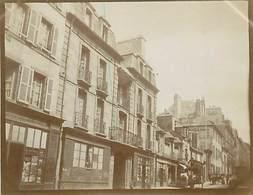 PH-18-004 : PHOTO. BRETAGNE 1902. FINISTERE. BREST. GRANDE RUE - Lieux