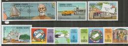 Iles SAMOA. Journée Mondiale De La Poste, 2 Séries, 8  Timbres Neufs **  Côte 15,00 Euro - Samoa