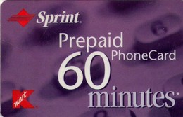 TARJETA TELEFONICA DE ESTADOS UNIDOS (PREPAGO). SPRINT, K MART PREPAID 60 MINUTES. (063) - United States