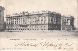 ST PETERSBOURG  Palais De Marbre - Russia