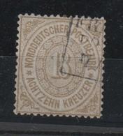 Norddeutscher Postbezirk , Nr 23 ?? , Oder Nachgezähnt , Gestempelt - Norddeutscher Postbezirk