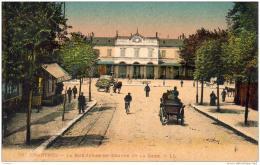D28  CHARTRES  La Rue Jehan- De- Beauce Et La Gare  ..... - Chartres