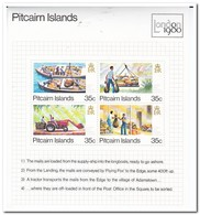 Pitcairneilanden 1980, Postfris MNH, International Stamp Exhibition LONDON 1980 - Postzegels