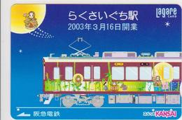 JAPAN - PREPAID-0512 - TRAIN - CARTOON - Comics