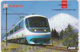 JAPAN - PREPAID-0520 - TRAIN - Comics