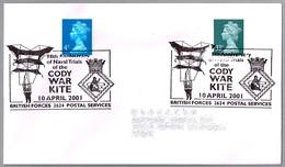 98 Anniv. CODY WAR KITE. BFPS 2001 - Militares