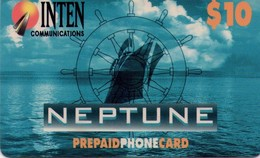 TARJETA TELEFONICA DE ESTADOS UNIDOS (PREPAGO). NEPTUNE, $10. (064) - United States