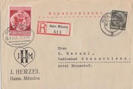 DR R-Brief Mif Minr.523,744 Hann. Münden - Deutschland