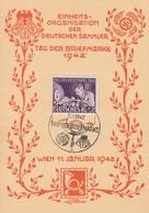 DR Anlasskarte Zum Tag Der Briefmarke Minr.811 SST Wien 11.1.42 - Deutschland