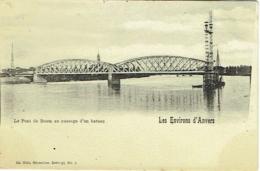 Environs D'Anvers. Pont De Boom Au Passage D'un Bateau. - Boom