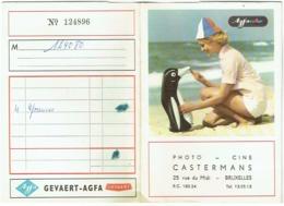 Foto/Photo. Pochette Agfacolor. Pin Up Et Pingouin. Castermans,Bruxelles. - Matériel & Accessoires