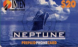 TARJETA TELEFONICA DE ESTADOS UNIDOS (PREPAGO). NEPTUNE, $20. (065) - United States