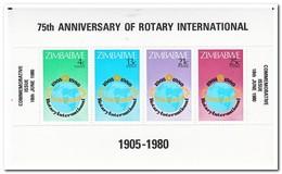 Zimbabwe 1980, Postfris MNH, 75 Years Of Rotary International - Zimbabwe (1980-...)