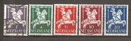 Holanda-Holland  Nº Yvert  461-65 (Usado) (o) - 1891-1948 (Wilhelmine)