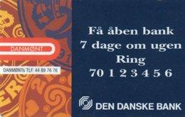 PHONE CARD-DANIMARCA-TELEDANMARK - Denmark
