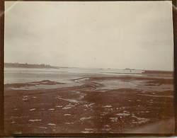 PH-18-086 : PHOTO. BRETAGNE 1902. ILE ET VILAINE.  SAINT-SERVAN A MAREE BASSE. - Lieux