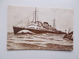 "CPA.- OSTENDE Oude Kaart - Malle , Maalboot "" Prince Baudouin "" 1934 - Oostende"