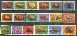 ILES SAMOA . Coquillages , 18  Timbres Neufs **  Côte 24,00 Euro - Samoa