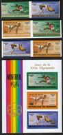 Burundi 1976 / Olympic Games Montreal / Gymnastics, Athletics / Mi 1271-1276 + Bl 93 / MNH - IMPERFORATED - Sommer 1976: Montreal