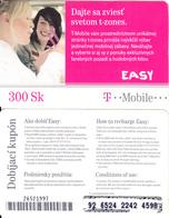 SLOVAKIA - Girls, T Telecom Prepaid Card 300 Sk(large Barcode), Used - Slovakia