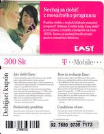 SLOVAKIA - Girls, T Telecom Prepaid Card 300 Sk(small Barcode), Used - Slovakia
