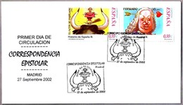 TORO - BULL. Correspondencia Epistolar. SPD/FDC Madrid 2002 - Fiestas