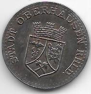 *notgeld Oberhausen 25 Pfennig 1919 Fe  10507.3 - Andere