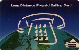 TARJETA TELEFONICA DE ESTADOS UNIDOS (PREPAGO). LONG DISTANCE PREPAID CALLING CARD, DATA WAVE. (070) - United States