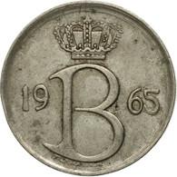 Monnaie, Belgique, 25 Centimes, 1965, Bruxelles, TTB, Copper-nickel, KM:153.1 - 02. 25 Centimes